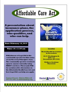 Affordable Health Care Act