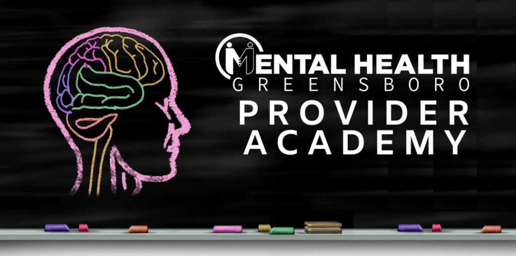 Mental Health Greensboro Provider Academy. Hypnosis Workshop.