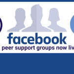 Facebook peer support groups