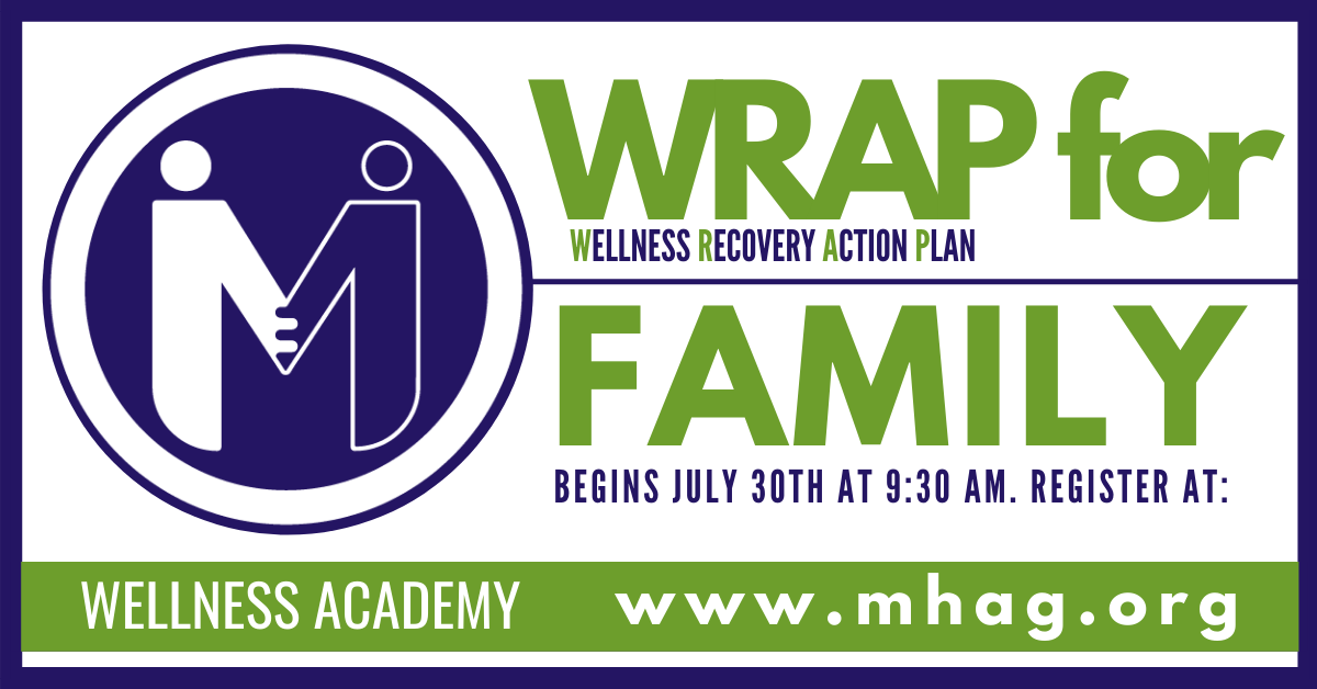 WRAP and Family Wellness Academy class begins June 30th