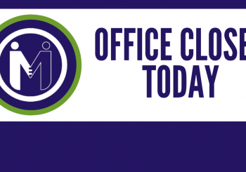 MHG Office Closed Friday Due to Weather.