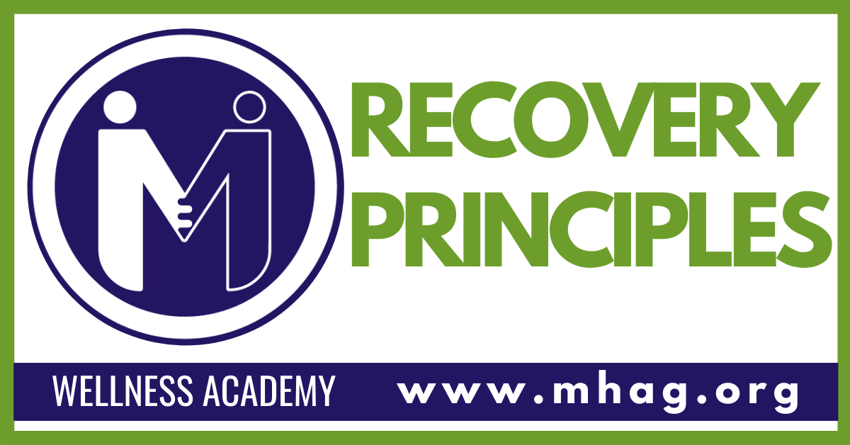 Wellness Academy: Recovery Principles - Session 1 -In Person
