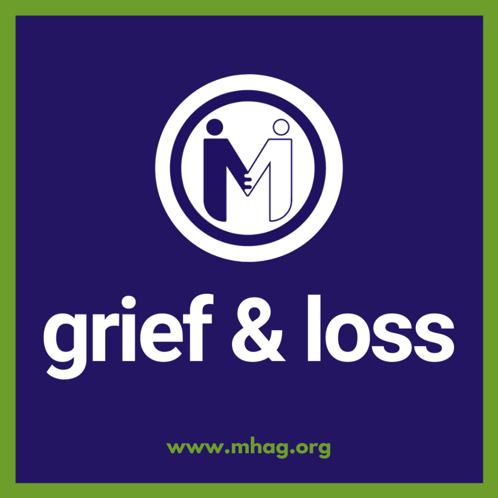 Grief and loss class begins January 12th.
