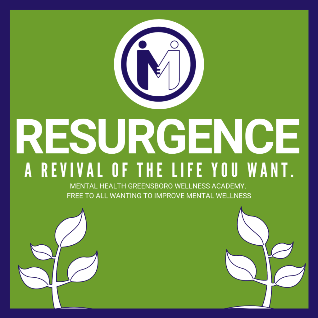Resurgence. Revive the life you want. Wellness class begins December 8th.