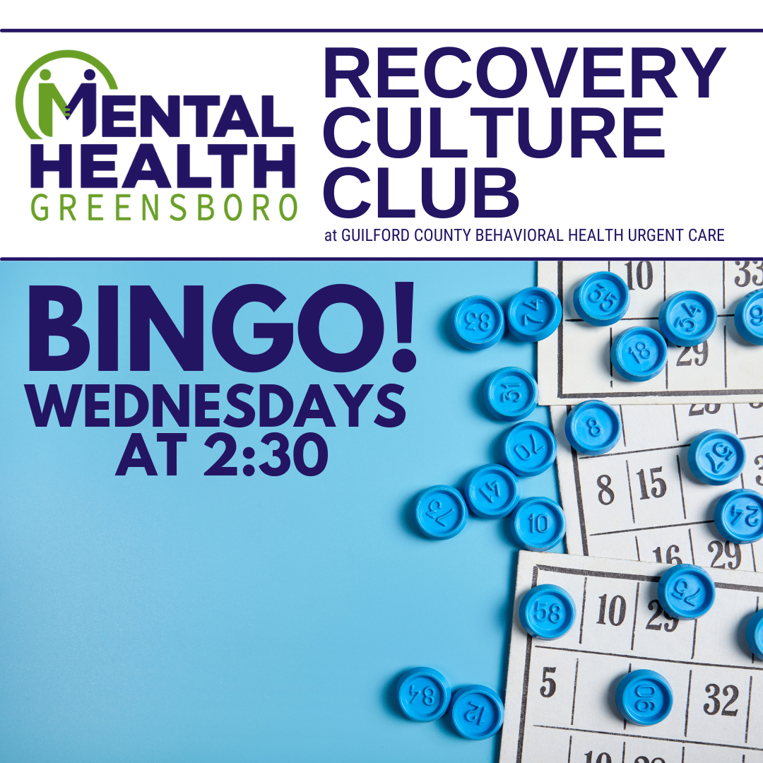 Compeer Wednesdays: Bingo at Recovery Culture Club