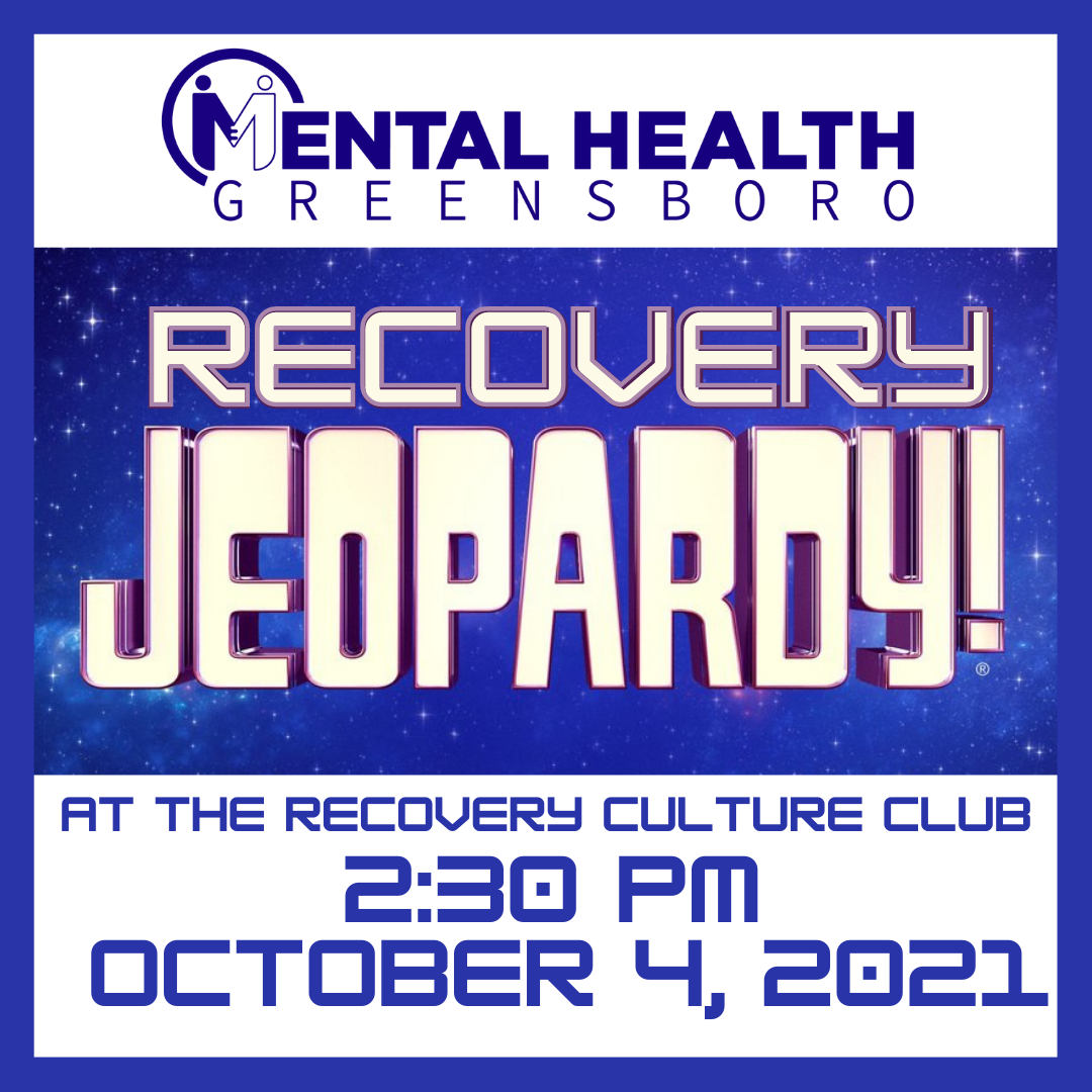 Recovery Jeopardy at the Recovery Culture Club